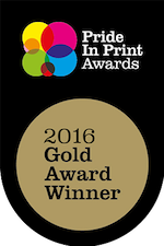 Pride in Print - 2016 Gold Award Winner